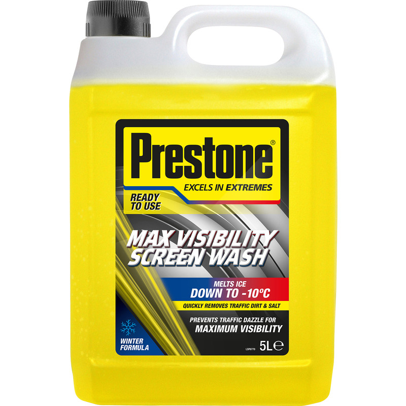 Prestone Max Visibility Screenwash RTU