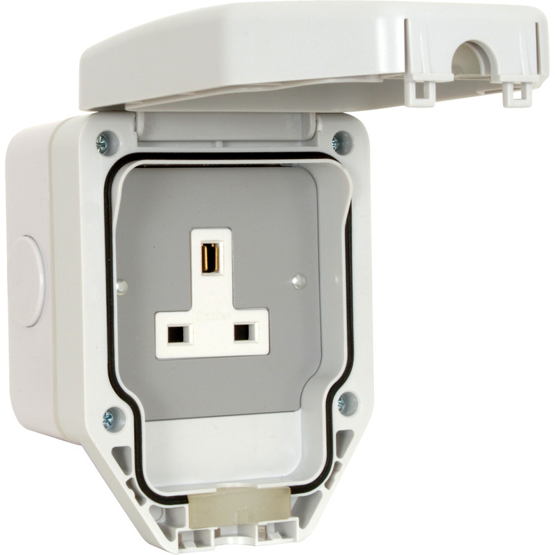 Crabtree IP56 13A Unswitched Socket