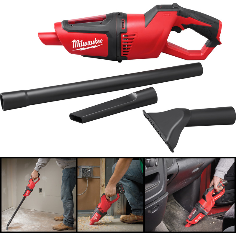 Milwaukee M12HV-0 12V Li-Ion Cordless Stick Vacuum Cleaner