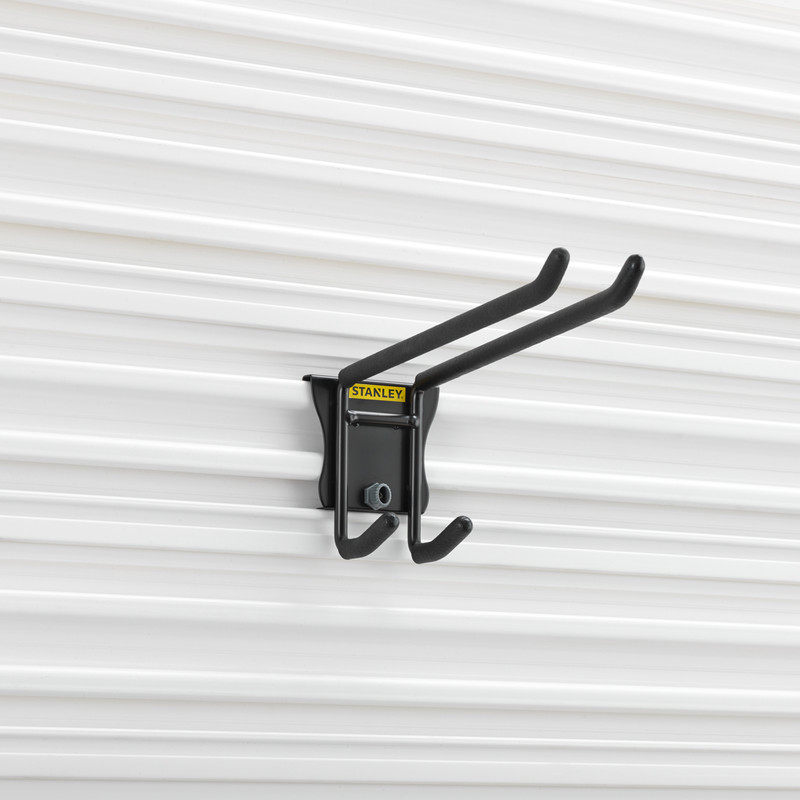 Stanley Track Wall System Standard Double Hook