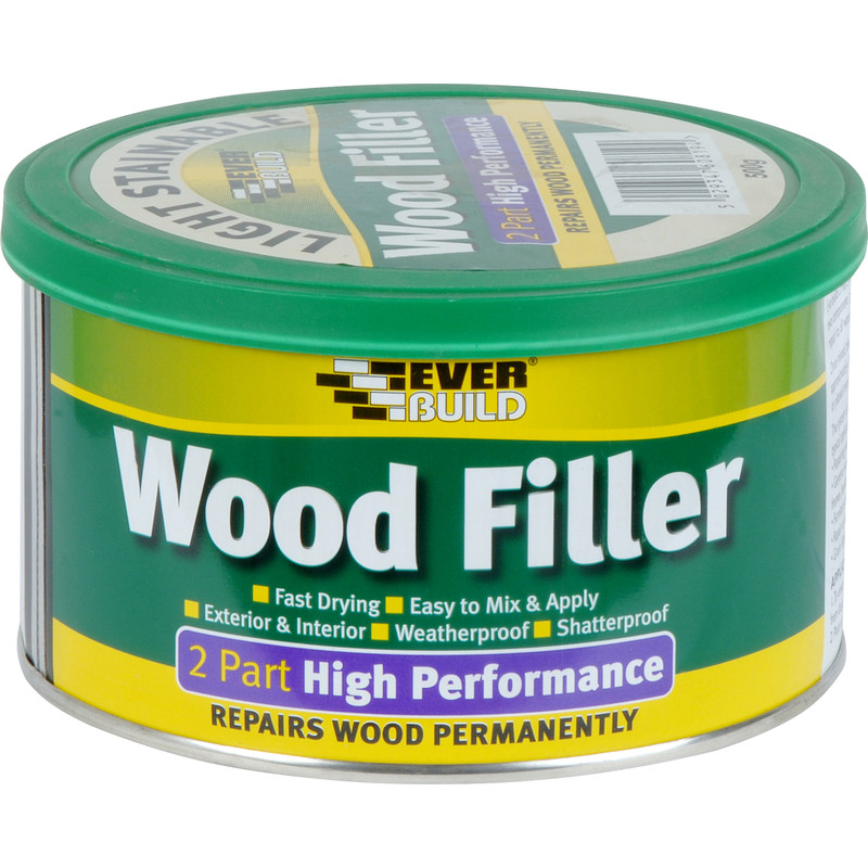 Everbuild High Performance Wood Filler 500g