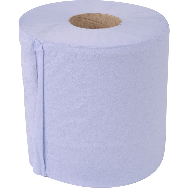 Centre Feed 2 Ply Blue Roll