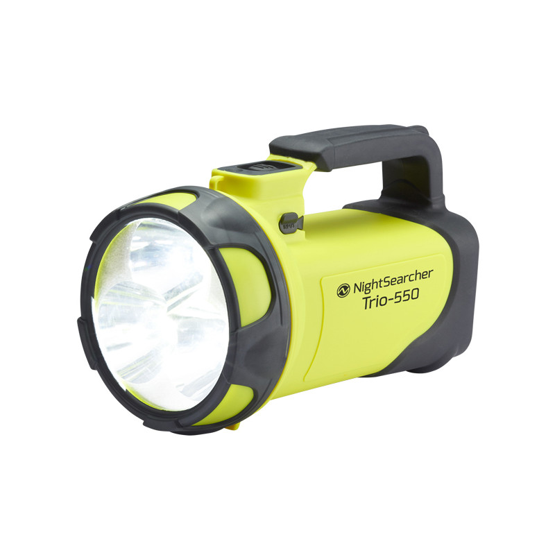 Nightsearcher Trio LED Rechargeable Handlamp Torch