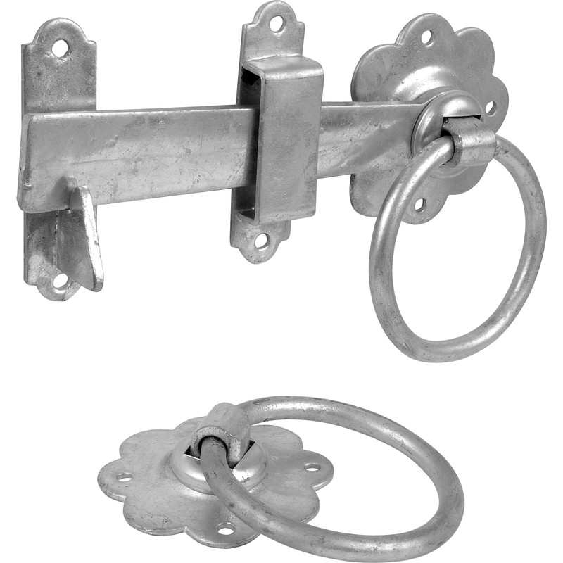 Ring Handled Gate Latch