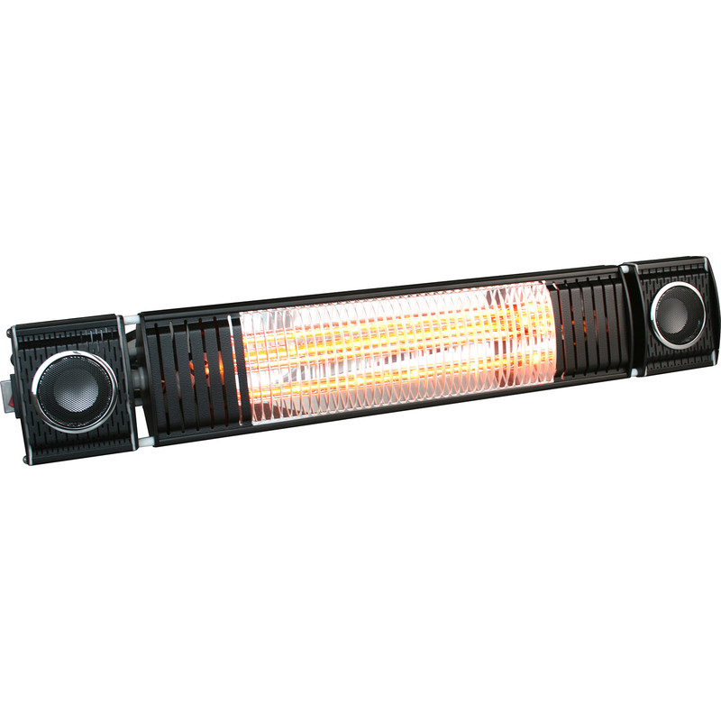 Wall Mounted Heater with Bluetooth Speaker