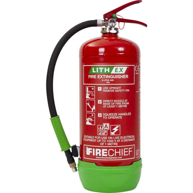 Firechief Lith-Ex Fire Extinguisher