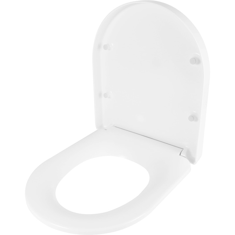 Croydex Eyre Thermoset Soft Close Toilet Seat