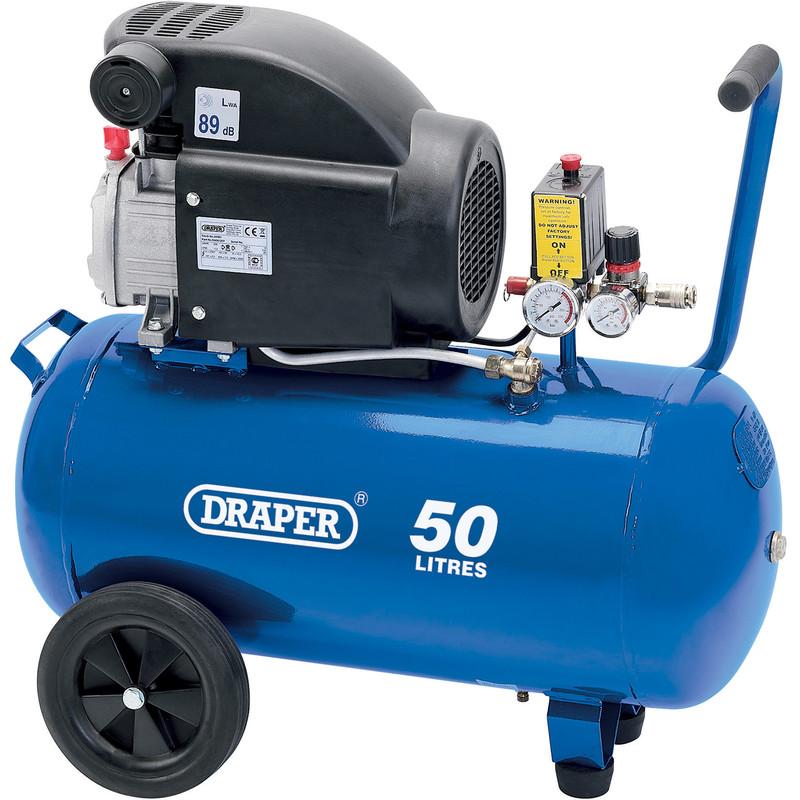 Draper 50L 1500W Air Compressor