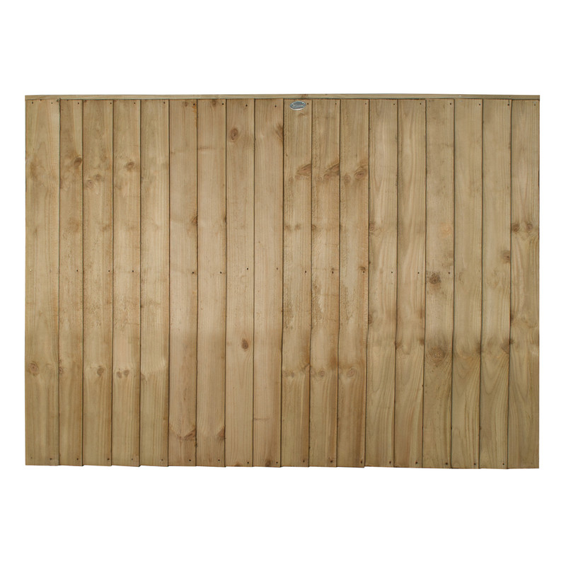 Forest Garden Pressure Treated Square Board  Fence Panel