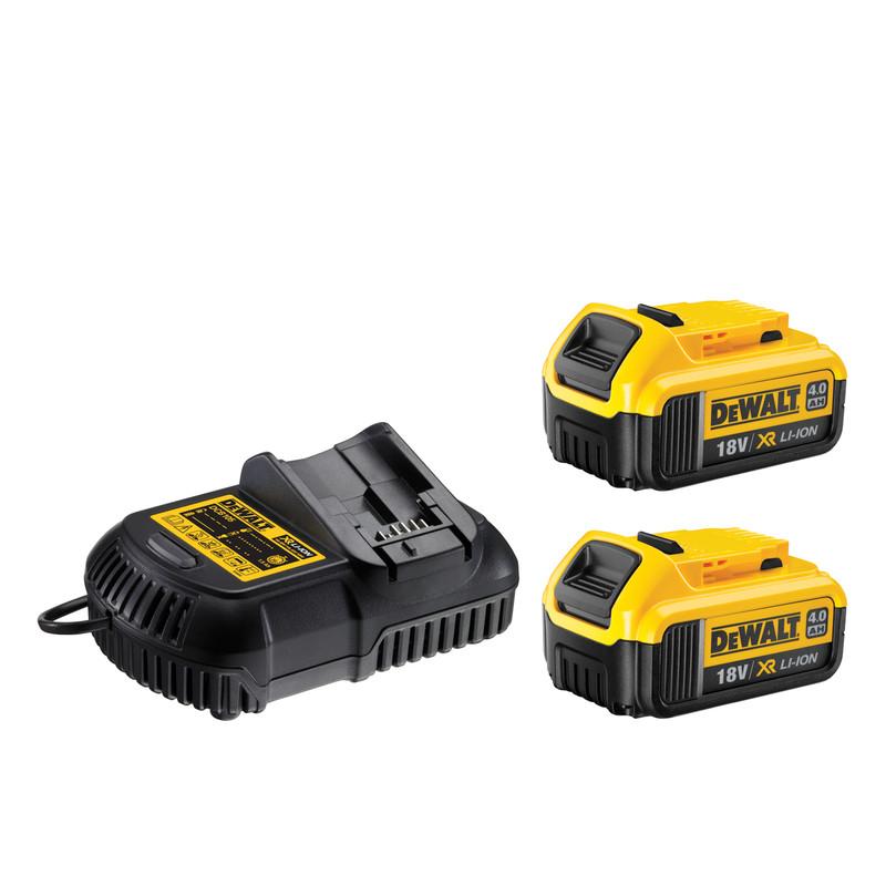 DeWalt DCK206M2T-GB 18V XR Combi Drill & SDS Hammer Drill Twin Pack