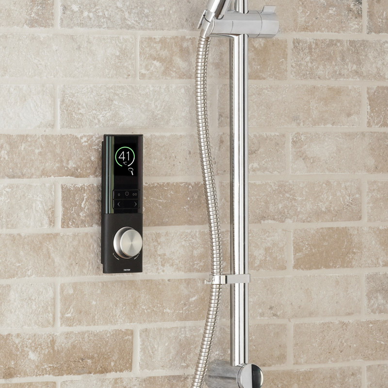 Triton Home Thermostatic Digital Diverter Mixer Shower