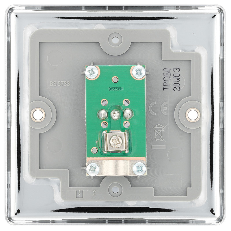 BG Polished Chrome TV / FM Connection