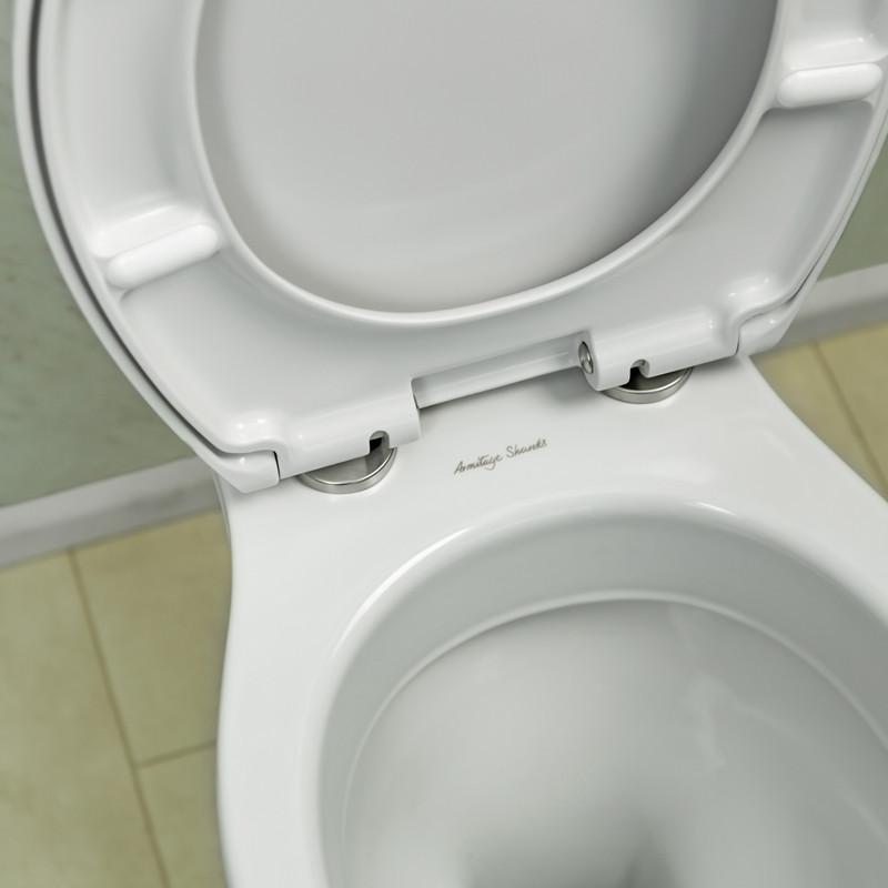 Ebb + Flo Thermoset Soft Close Wrap Over Toilet Seat