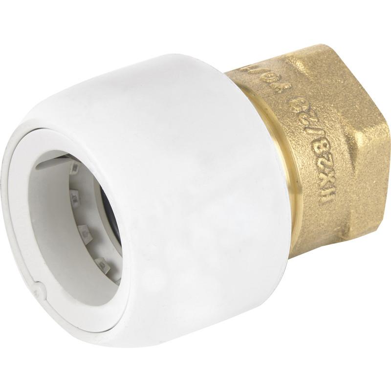 Hep2O Female Adaptor Brass Socket