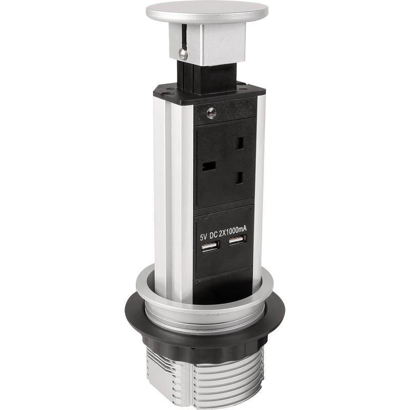 Axiom Pull Up Mini Tower Socket