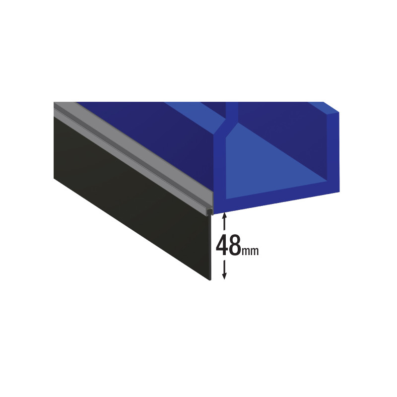 Garage Door Seal Aluminium