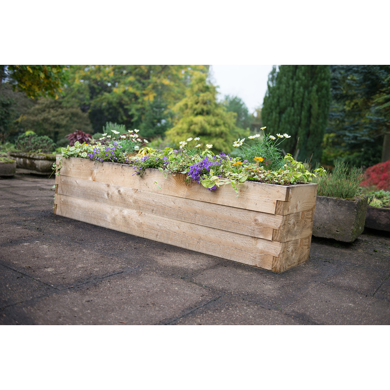 Forest Garden Caledonian Trough Raised Bed 42cm (h) X