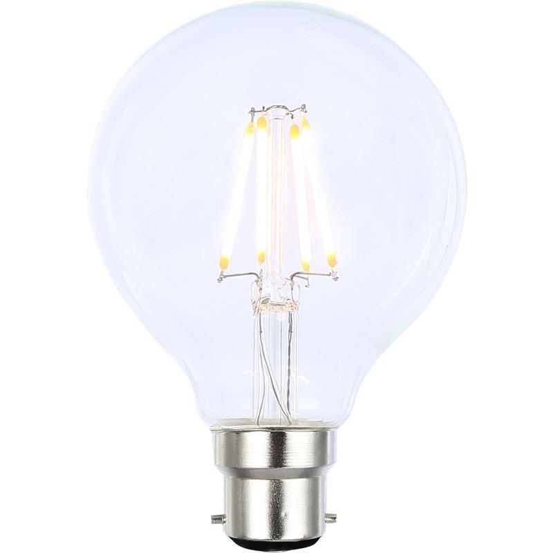Vintage LED Filament G80 Globe Bulb Lamp