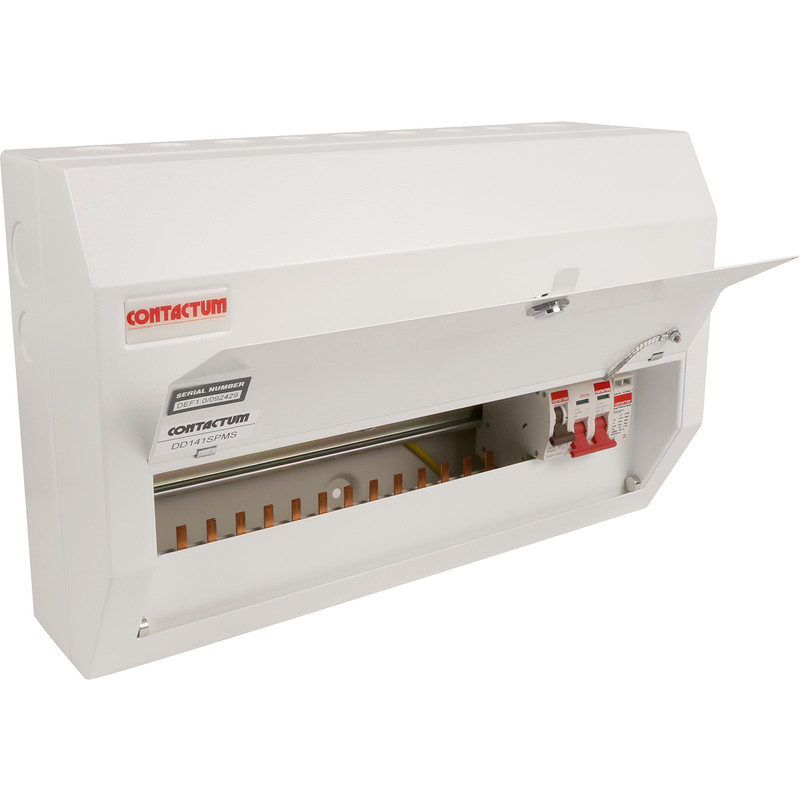 Contactum Metal 100A Consumer Unit inc SPD