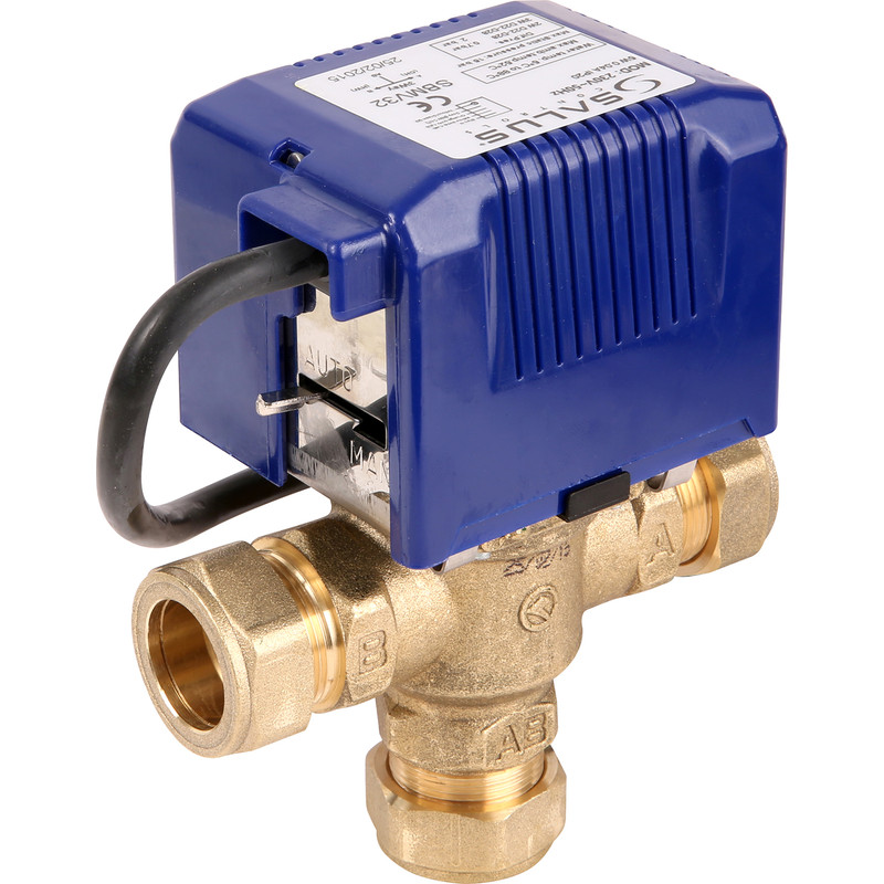 Salus SBMV 3 Port Motorised Valve