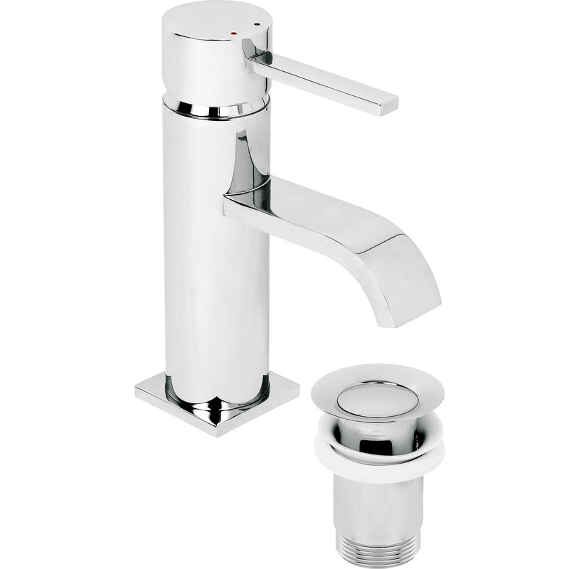 Wave Mono Basin Mixer Tap