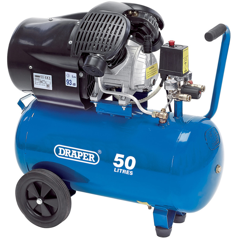 Draper 50L 2200W Air Compressor