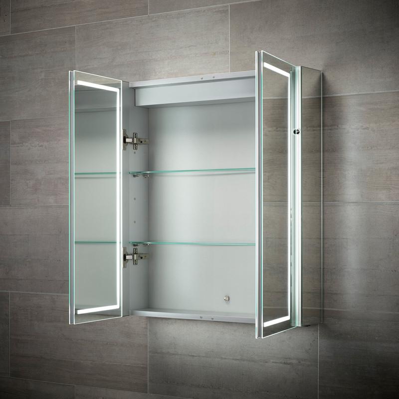 Sensio Sonnet Double Door LED Mirror Cabinet
