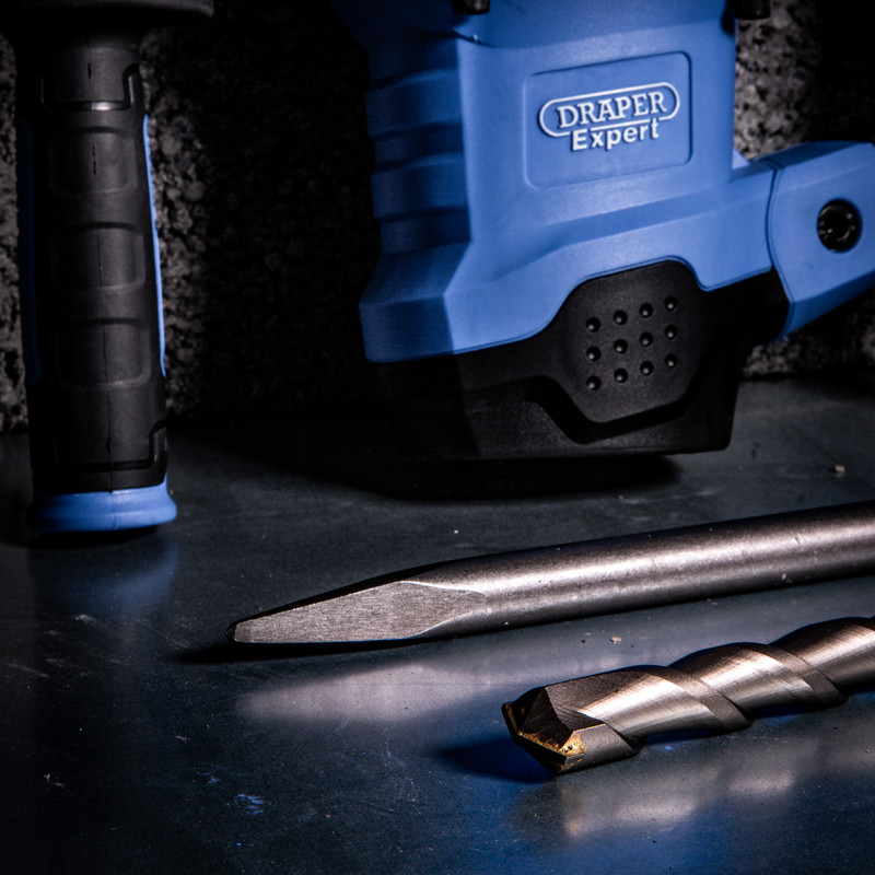 Draper 1600W 2 Function SDS Max Rotary Hammer Drill