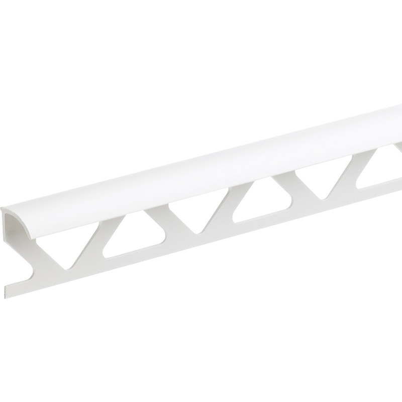 Homelux White PVC Trade Tile Trim