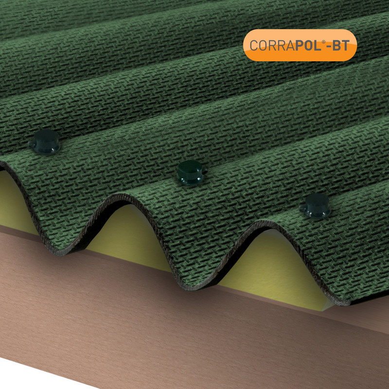 Corrapol-BT Corrugated Bitumen Sheet