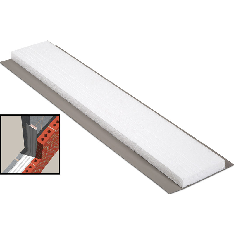 YBS 2.4m Easi-Close EPS White Cavity Closer
