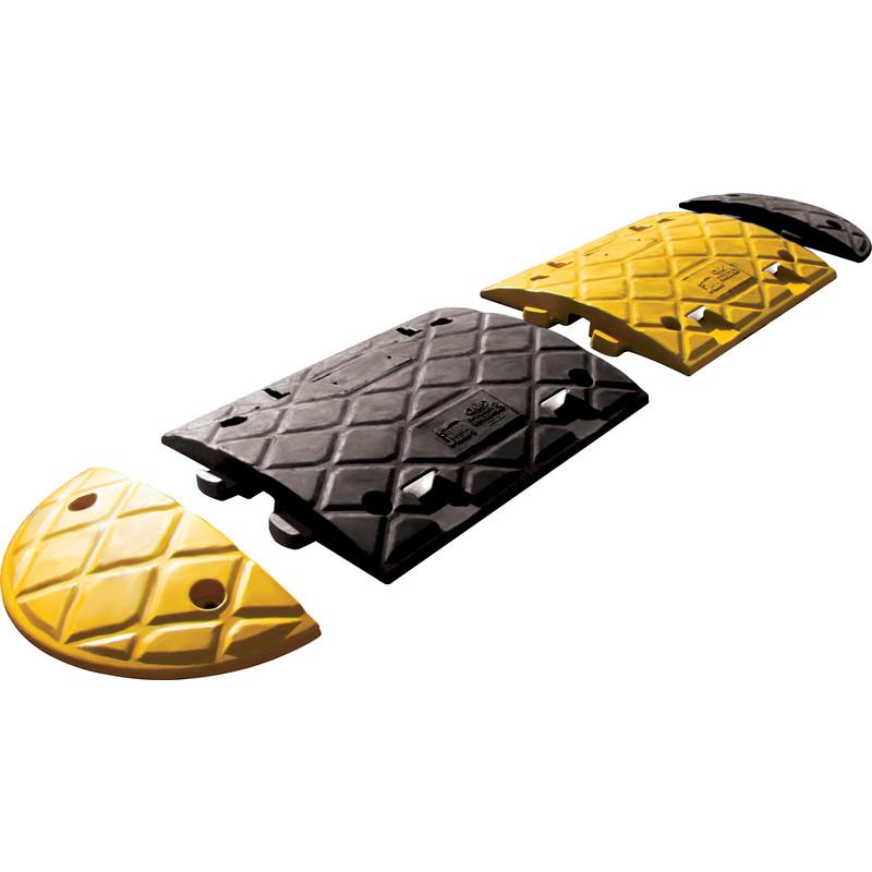 JSP Jumbo Speed Bump Black and Yellow