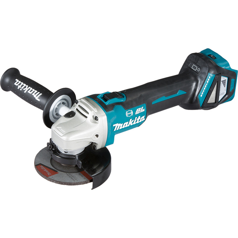 Makita DGA463Z 18V Li-Ion 115mm Brushless Cordless Angle Grinder