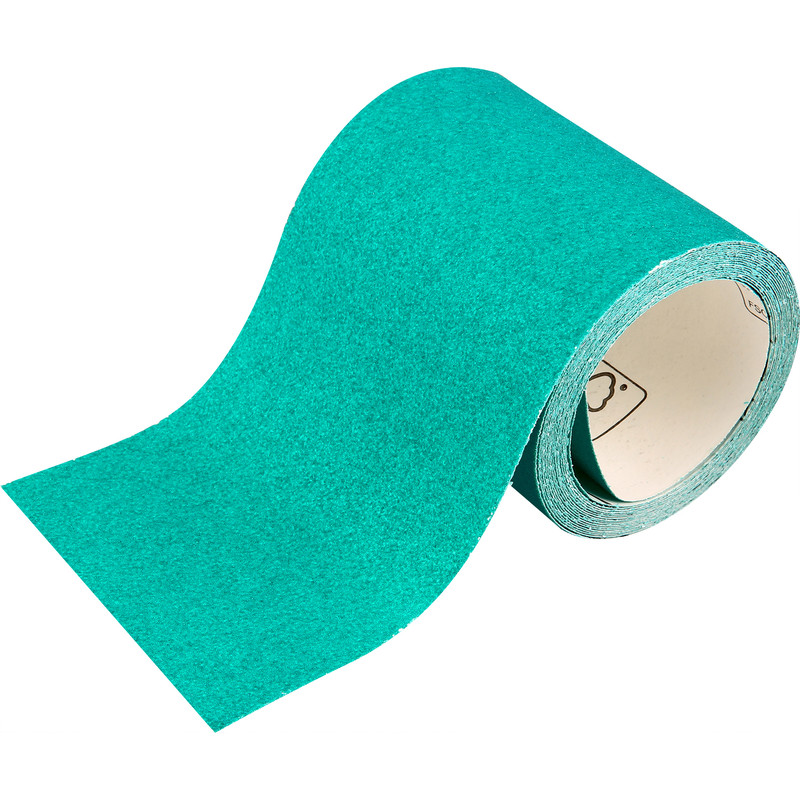 Oakey Liberty Green Alox Sanding Roll 115mm