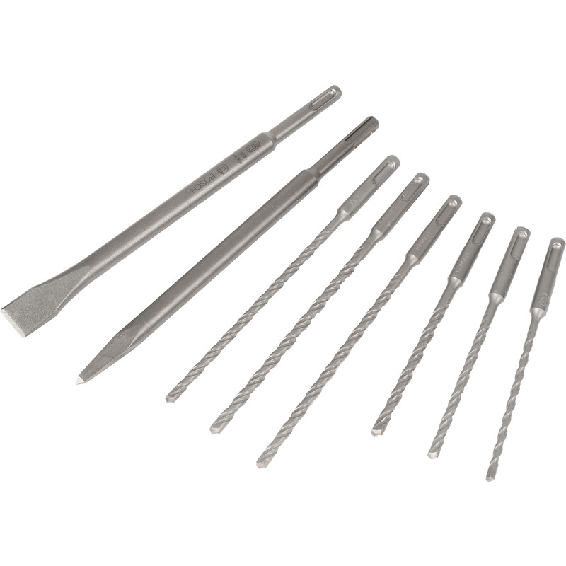 Bosch 8 Piece SDS Set