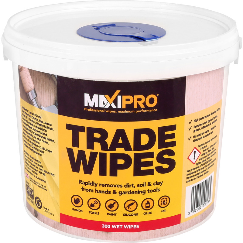 Trade Strength Cleaning Wipes