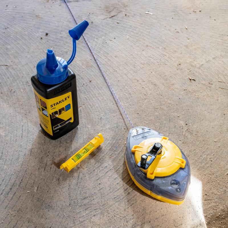 Stanley Powerwinder Chalk Line Kit