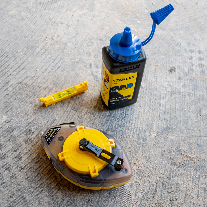 Stanley Powerwinder Chalk Line Kit
