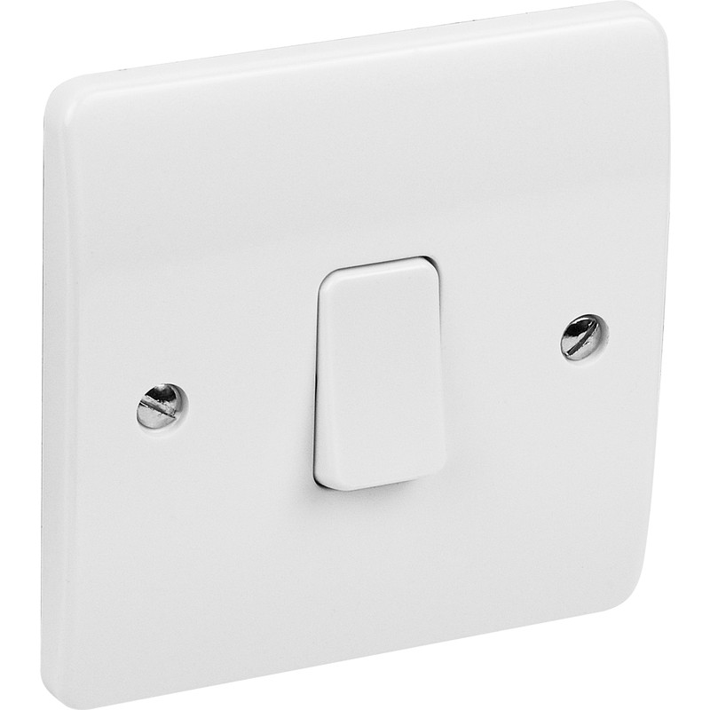 MK Light Switch 1 Gang Intermediate