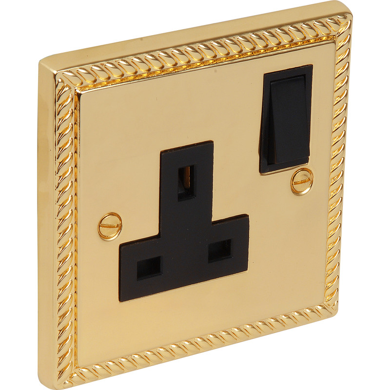 Georgian Switched Socket