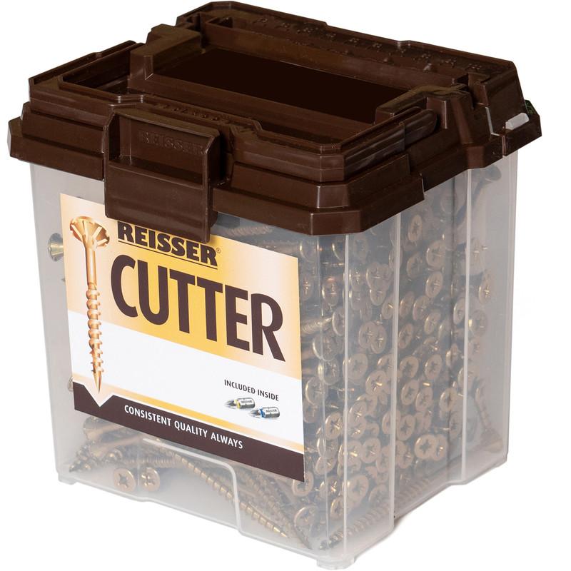 Reisser Cutter Pozi Screw Tub