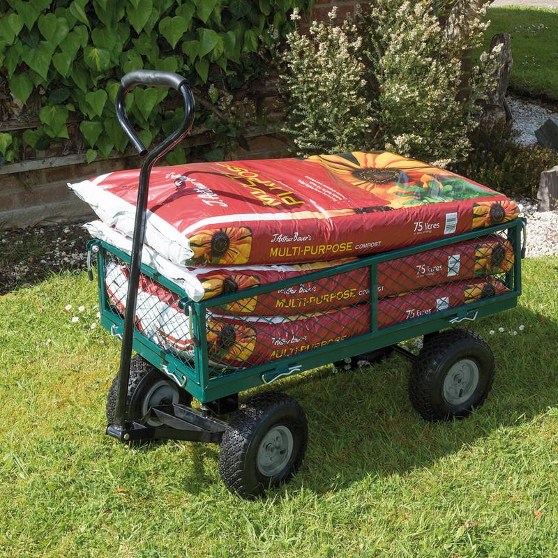 Draper Garden Mesh Trolley Cart