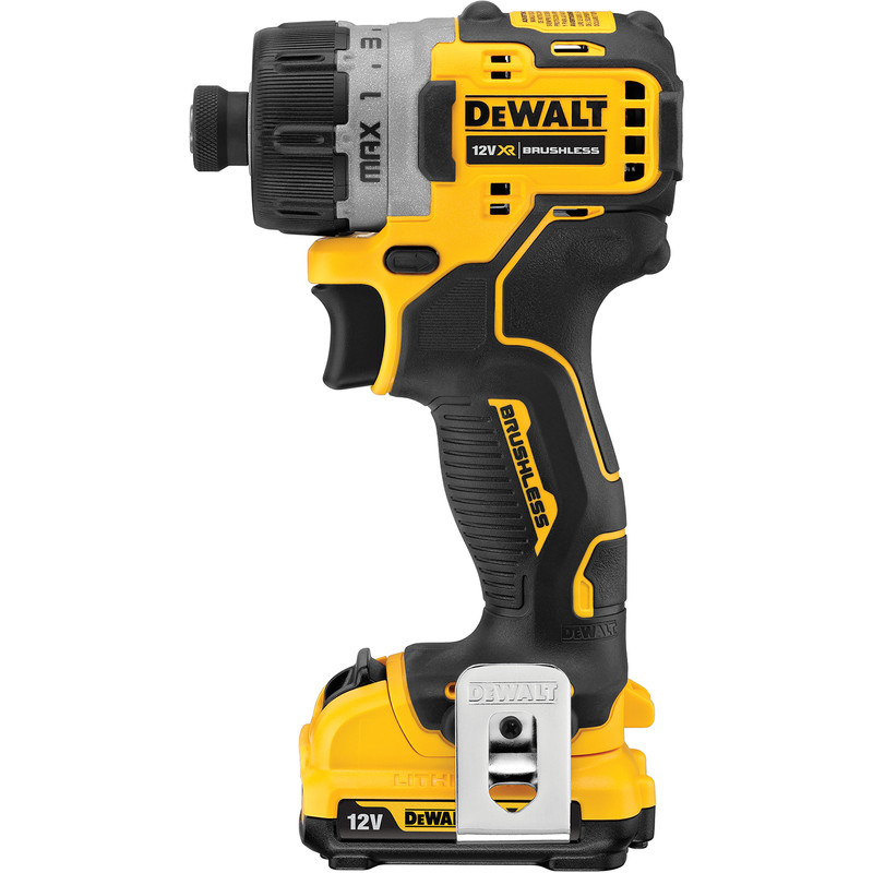 DeWalt DCF601D2-GB 12V XR Li-Ion Brushless Compact Screwdriver
