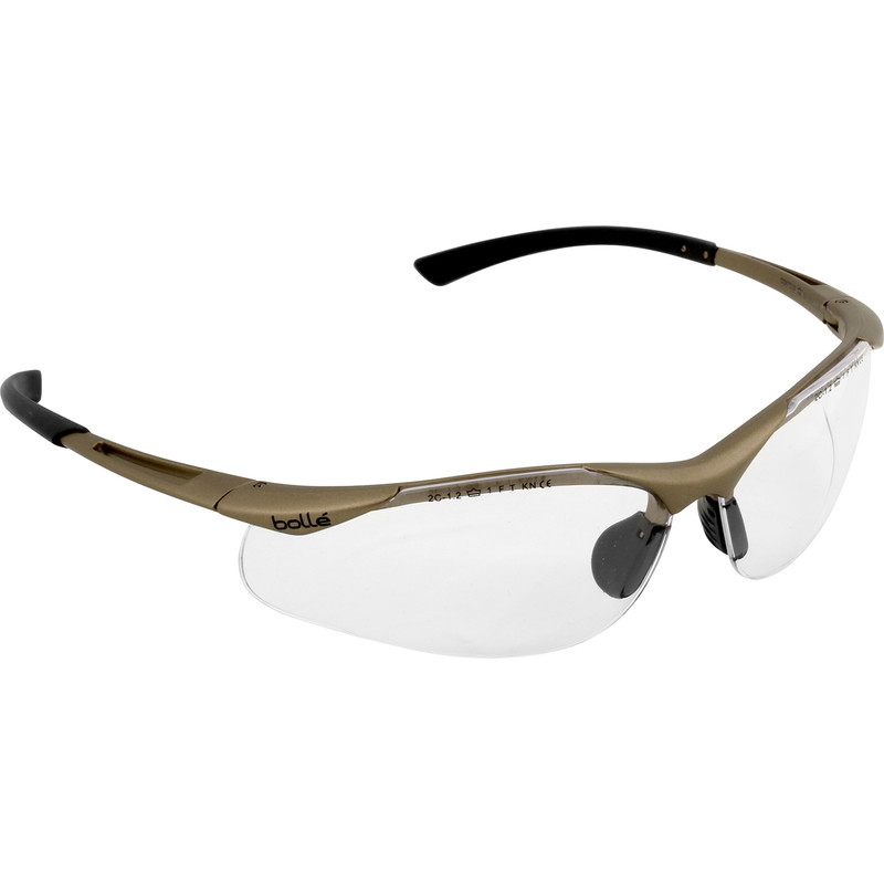8952a85bfe92 Bolle Contour Safety Glasses Clear
