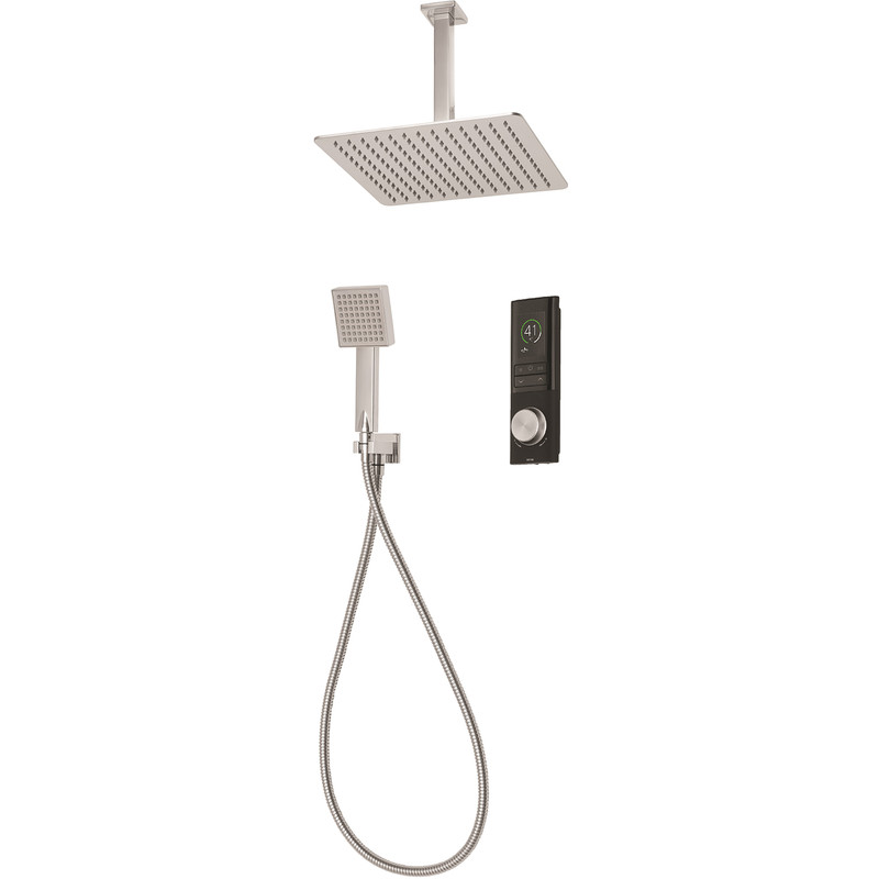 Triton Home Digital Mixer Shower with Square Diverter