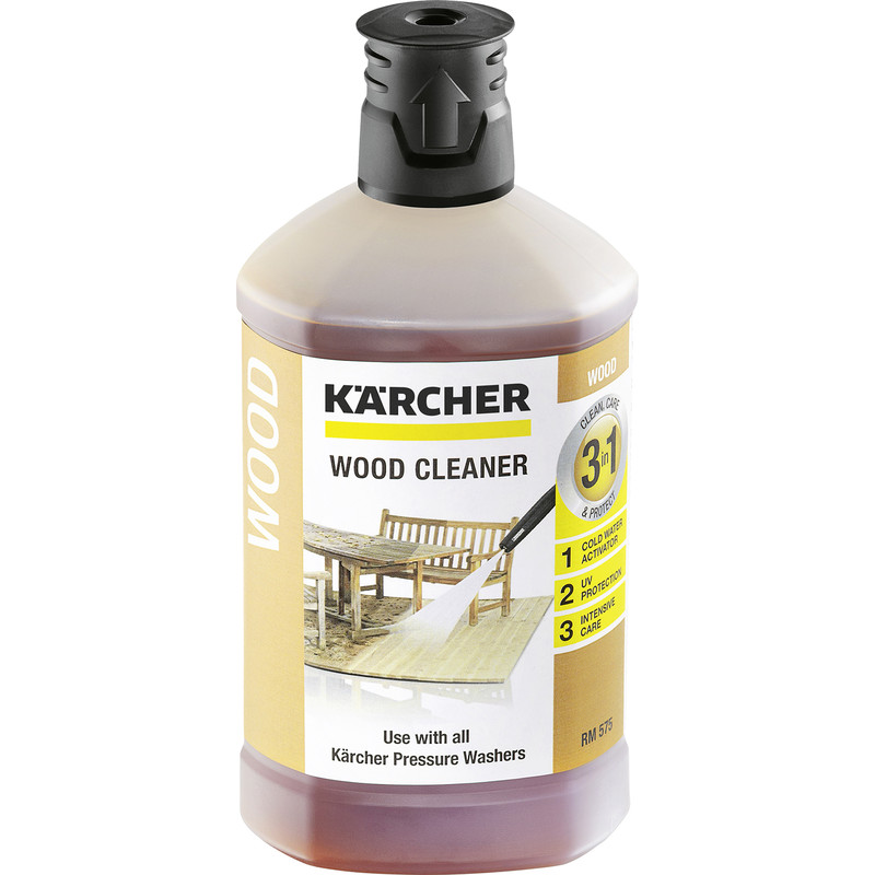 Karcher 3-in-1 Wood Cleaner Detergent