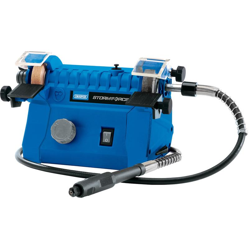 Draper 100W 50mm Mini Bench Grinder