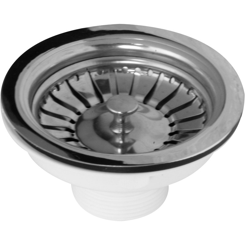 Stainless Steel Basket Strainer Waste 1