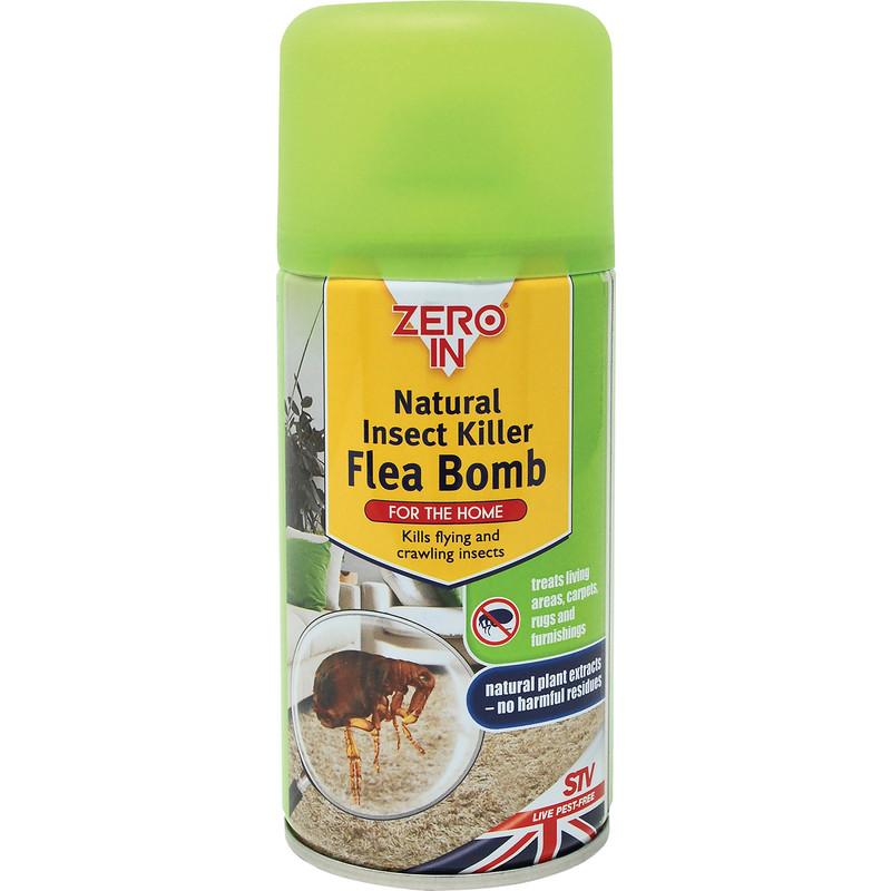Zero In Natural Insect Killer Flea Bomb