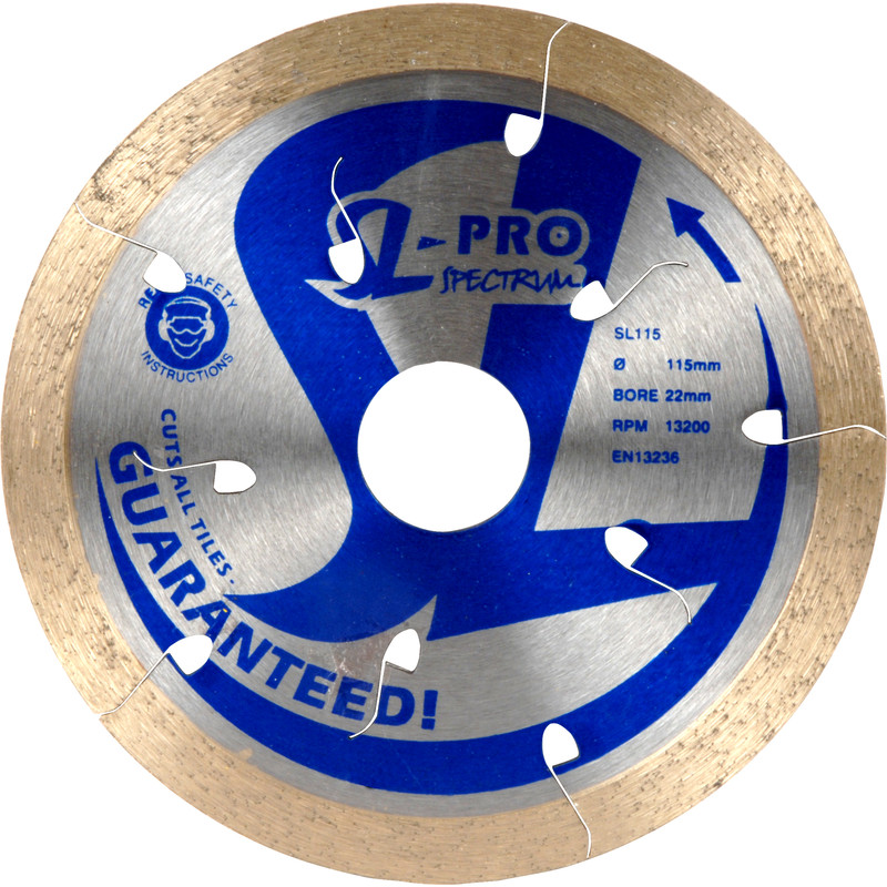 Spectrum SL-Pro Ultimate Diamond Tile Cutting Disc